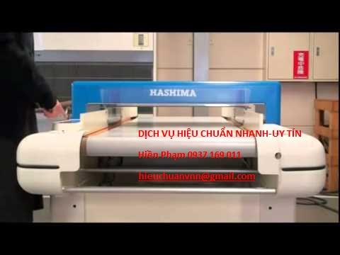 Hiệu chuẩn máy dò kim Hashima